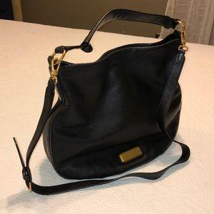 Marc Jacobs leather shoulder bag w/ strap